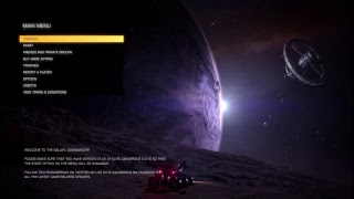 Elite Dangerous (PS4) - Solo Gameplay 01
