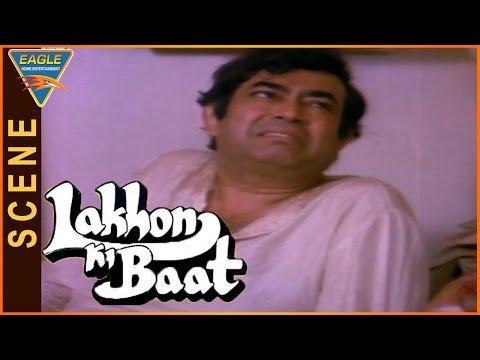 Lakhon Ki Baat Movie || Farooq Sheikh & His Wife Nice Comedy Scene In His House || Sanjeev Kumar
