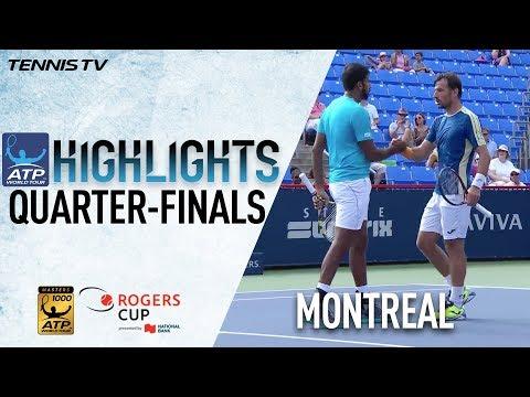 Highlights: Bopanna/Dodig Reach Montreal 2017 Doubles SF