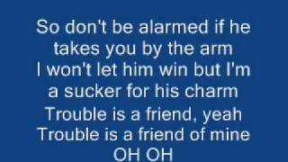 "Lenka ""Trouble is a Friend"" (Lyrics)"