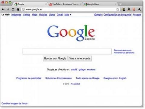 Comment mettre la barre de recherche google sur google chrome