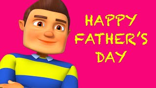 Daddy Is So Sweet | Father's Day Song 2021 | Happy Father's Day | Nursery Rhymes & Kids Songs
