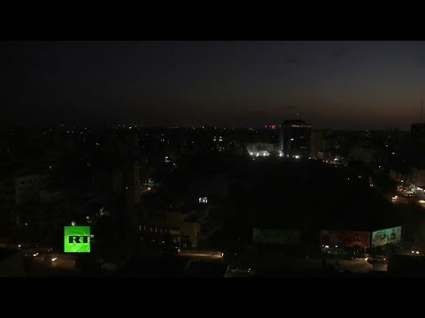 Live from Gaza as Israel\'s military claims it has started striking Hamas targets