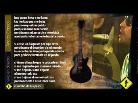 Andrés Cepeda - Vivo en Directo Completo (Letra) / Colombia es.. Cepeda))