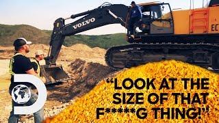 Parker's New Excavator Helps Him Mine Over Half A Million Dollars Of Gold | Season 10 | Gold Rush