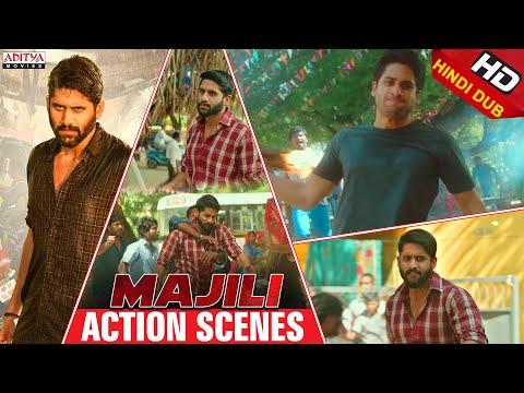 Majili Action Scenes  | Hindi dubbed movie 2020 | Naga Chaitanya, Samantha