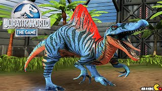 Jurassic World The Game Spinosaurus Unlocked Stage 25 Gameplay Walkthrough! iOS/Android