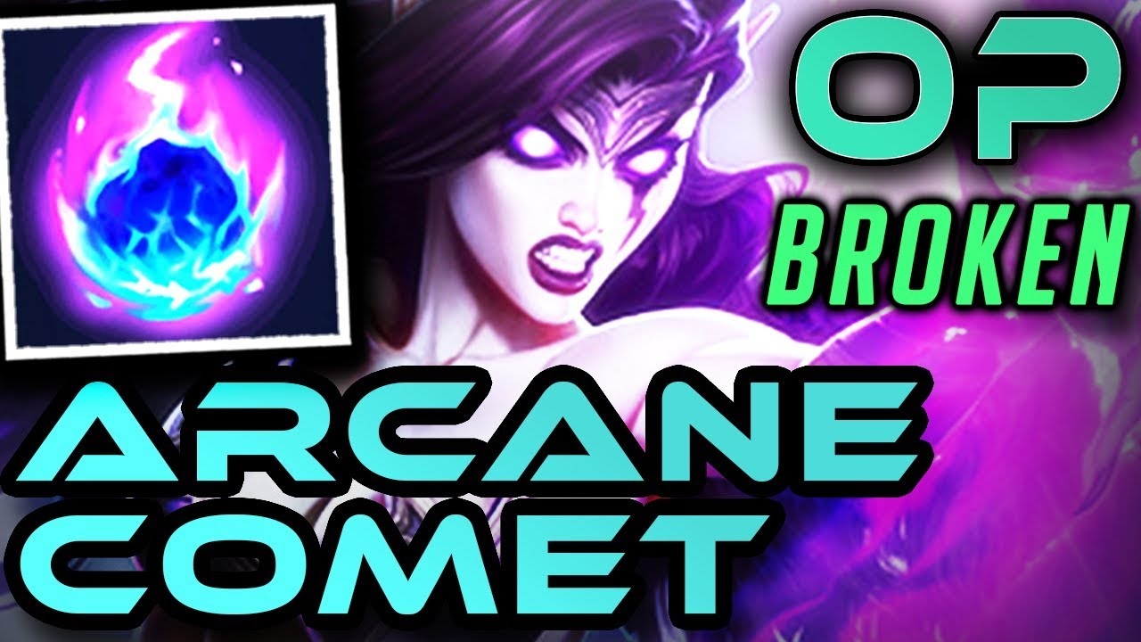 Broken Op Morgana Mid Arcane Comet Season 8 Runes Gameplay