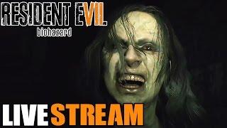 Resident Evil 7 Biohazard Gameplay Walkthrough LIVE STREAM! Most Terrifying Experience Ever!