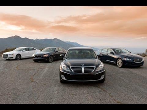 Long Wheelbase Luxury Sedans Comparison Test