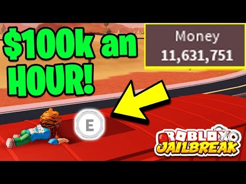 Make Money For You On Roblox Jailbreak - Roblox Jailbreak How To Get Money Fast 100khour Becoming Richer Than Myusernamesthis