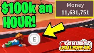 Roblox Jailbreak HOW TO GET MONEY FAST! ($100k/hour) | Becoming RICHER Than MyUsernamesThis!
