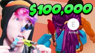 IF YOU FIND ME, TAKE $100,000! KREEKCRAFT EDITION! (Roblox Jailbreak)