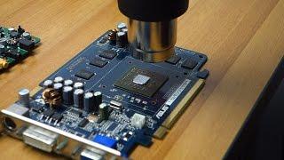How to reflow a video card with a cheap heat gun