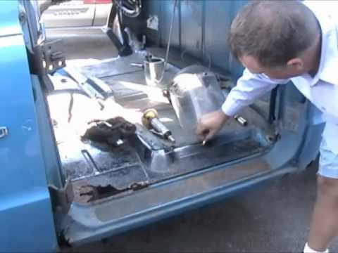 How To Repair Rust On A 1972 Chevrolet Truck 1 Youtube