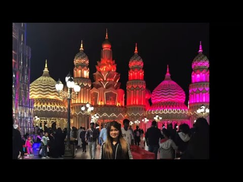 Best tourist in Dubai UAE / Global Village memories 2019