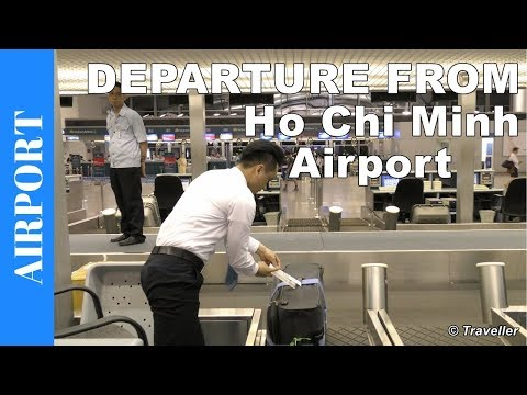 Inside HO CHI MINH CITY AIRPORT - Departing From Tan Son Nhat International Airport In Vietnam