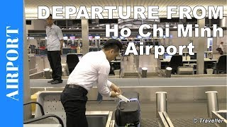 Inside Ho Chi Minh City Airport | Departing from Tan Son Nhat International Airport in Vietnam
