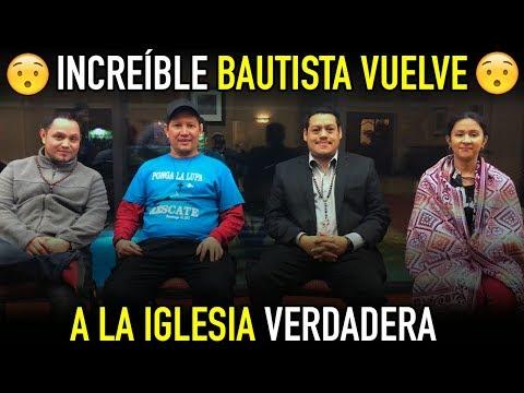Bautista vuelve a la iglesia con los videos del p Luis toro - Gran Testimonio