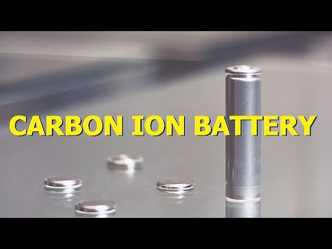 Carbon ion Battery