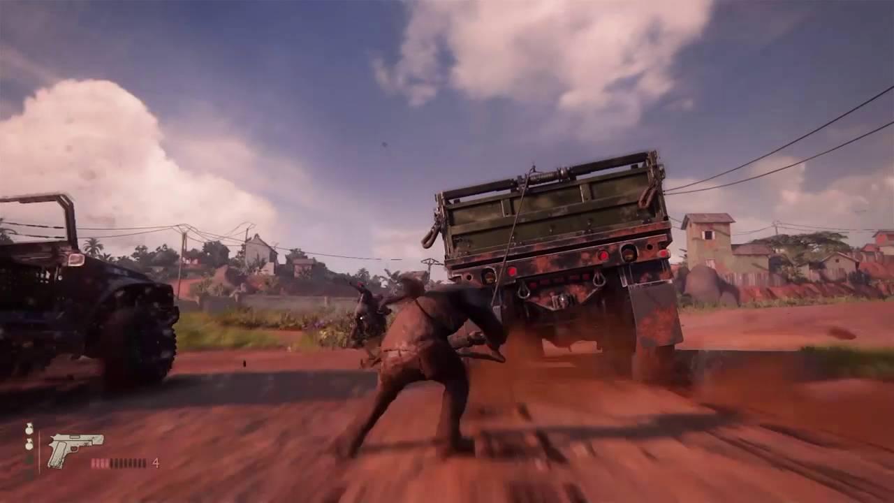Uncharted 4 Madagascar Car Chase Youtube