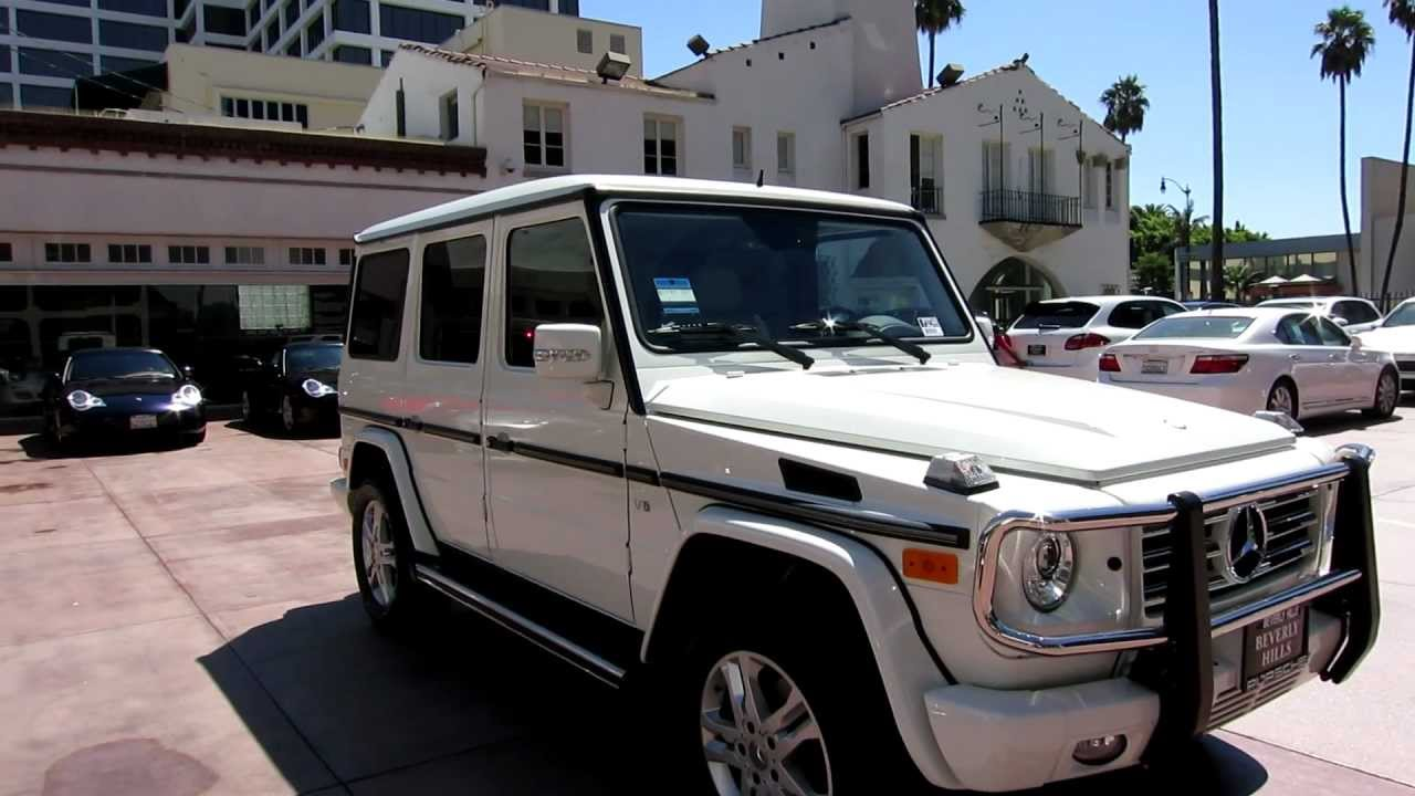 Just In 2k Mi 2012 Mercedes G 550 G Wagon White On Two Tone