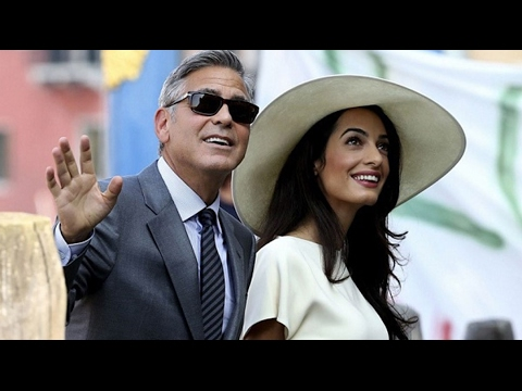 George Clooney's Wife Amal Is Pregnant With Twins!