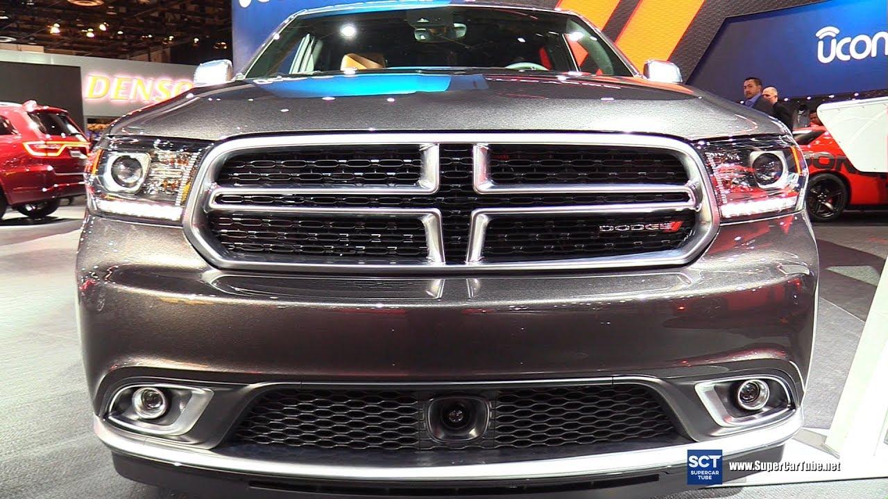 2017 Dodge Durango Citadel Exterior And Interior Walkaround 2017 Detroit Auto Show Youtube