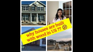 Why houses are built with wood in US?|| Stages of house construction||Telugu Vlogs from USA|