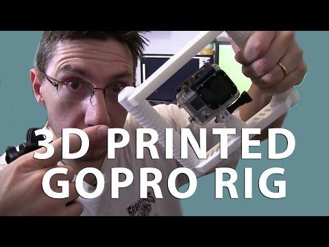 3D Printed GoPro Camera Rig Build + Review