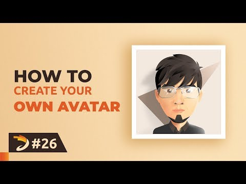 How To Make Your Own Avatar with Illustrator | 3D Profile Picture