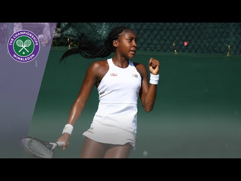 Cori Gauff reacts to becoming youngest Wimbledon qualifier in the Open Era