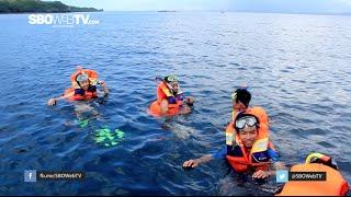Menikmati Snorkling Di Pulau Menjangan - SBOWEBTV Crew Holiday