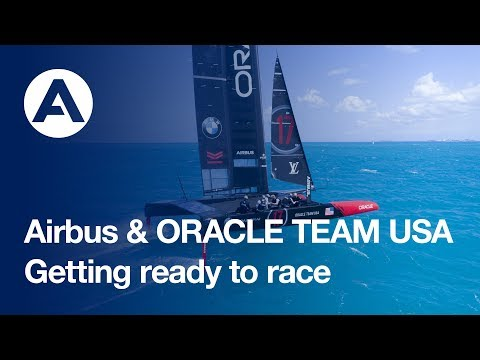 Getting ready to race: Americas Cup boat revealed in Bermuda
