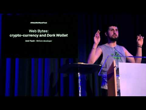 Amir Taaki on Cryptocurrency at Web We Want Festival