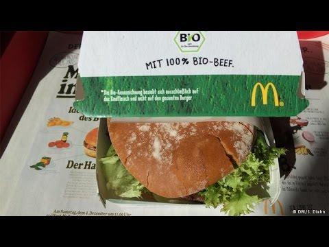 Will Organic Make a Difference at McDonald's  | Organic Bio McDonalds Burger