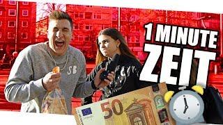 Für 50 EURO 2 Scheiben TOASTBROT in EINER MINUTE ESSEN! ⌚️ STREET COMEDY| urgeON