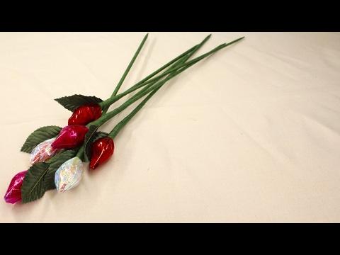 Hersheys Kisses Roses
