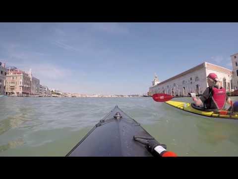 Kayak de mer à Venise avec voyage-kayak.com