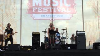 "Maggie Rose - ""Emotional Vampire"" live at CMAFest 2015"