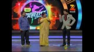 Dance Maharashtra Dance Grand Finale 17th March 2013 - Supriya Pathare & Bhalchandra Kadam