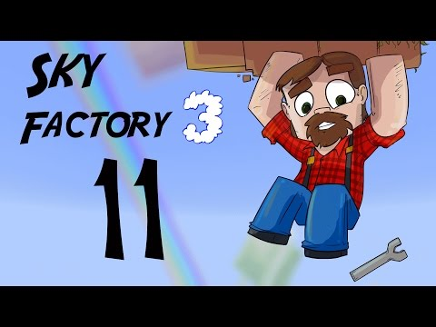 FTB 1.10 SkyFactory 3 Episode 11:  Ore Processing Setup And Steel!