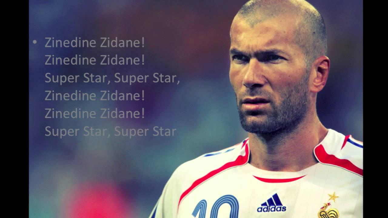 Zinedine Zidane [Lyrics] - YouTube