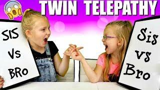 Twin Telepathy Challenge - YouTube!!!
