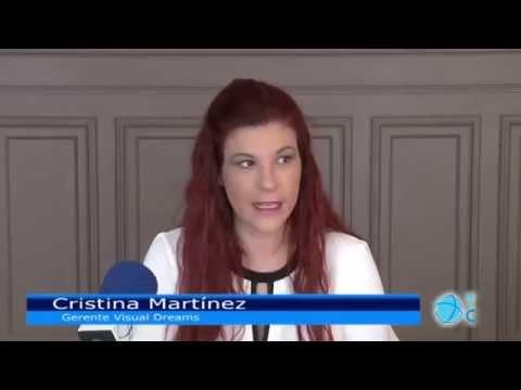 Entrevista a Cristina Martínez por Tele Cartagena - Teatralización Casino de Cartagena