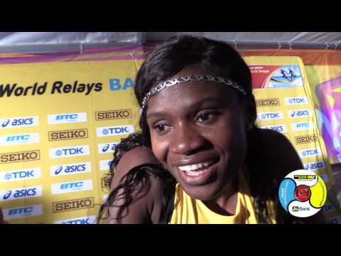 Jamaica 4x400m ladies comfortable with 1st round