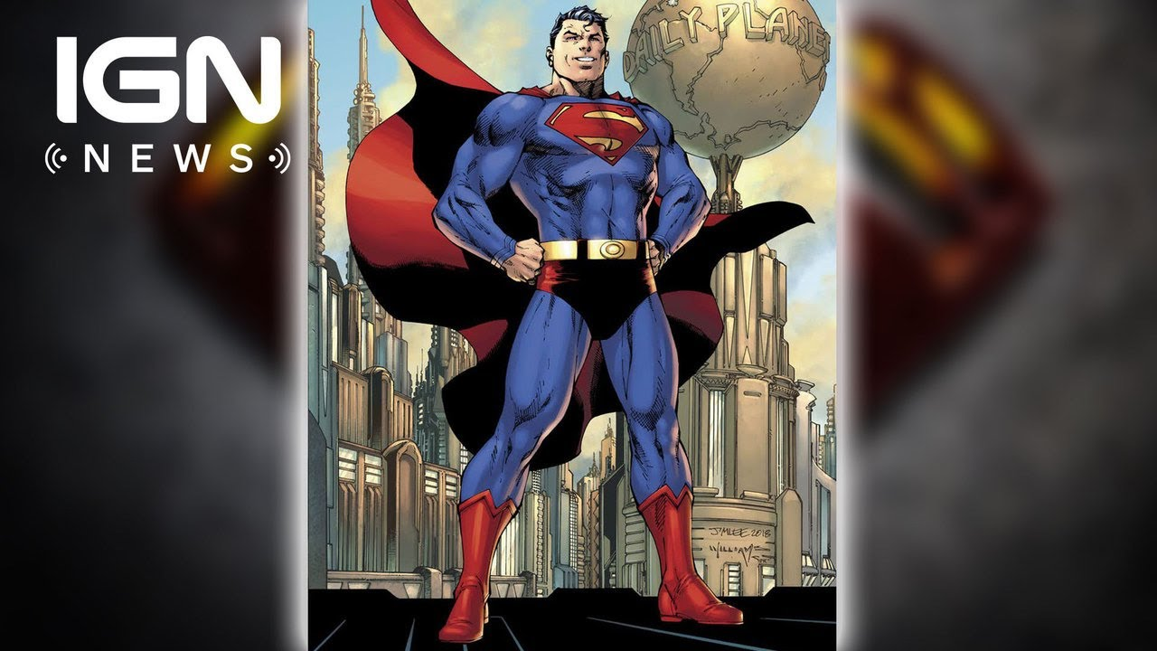 superman s red trunks make a comeback ign news youtube