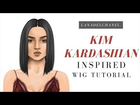 KIM KARDASHIAN Inspired Stardoll Wig Tutorial by LanaDelChanel