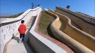 基隆孝德里鄰里公園 港東隧道溜滑梯