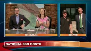 National BBQ Day - Segment on Daybreak Denver - GQue BBQ - Spare Ribs